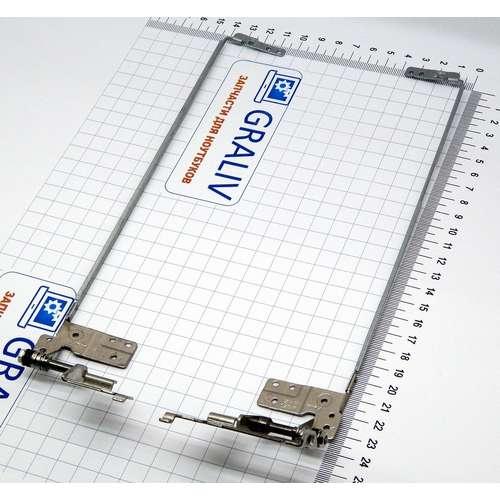 Петли для ноутбука Lenovo B50-30, B50-45, B50-70, B50-80, AM14K000400, AM14K000300