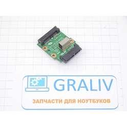 Плата SATA удл. для ноутбука Asus K70A, K70IO_ODD_CN_BOARD REV:2.0
