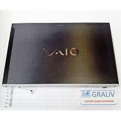 Крышка матрицы с петлями, ноутбука Sony SVZ1311V9RX, C9442F/3452SP