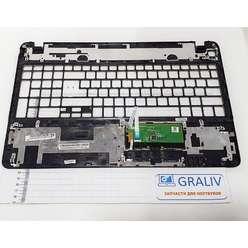 Верхняя часть корпуса, палмрест ноутбука Packard Bell TV11HC Q5WS1, AP0NN000400