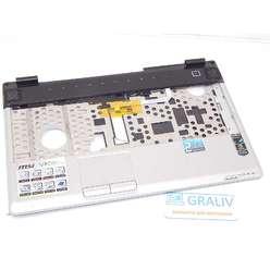 Палмрест верхняя часть корпуса ноутбука MSI VR630, VR630X-242RU