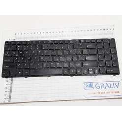 Клавиатура ноутбука DNS A15, A17, MSI CX640, CR640, 0KN0-XV6RU01