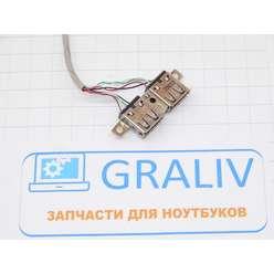 USB для ноутбука HP 4510S, 6017B0199501 REV:A01