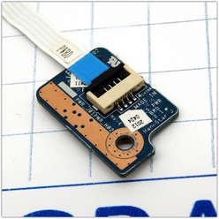 Плата включения включения, панель, кнопка старта ноутбука Toshiba C850D DPK J01PWR