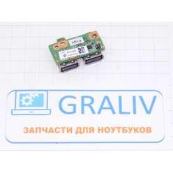 Плата USB для HP DV5-1110ee, 34QT6UB0010