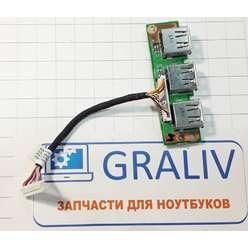 Плата USB для Acer Extensa 5210, 48.4T302.011