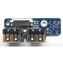 Плата расширения USB LS-3547P  для ноутбука Toshiba Satellite L350