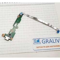 Доп. плата с разьемом VGA ноутбука Acer Aspire V5-551, V5-551G, DA0ZRPIB6C0