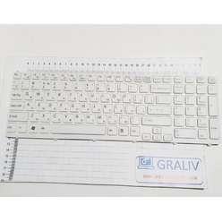 Клавиатура ноутбука Sony SVE151, SVE15, SVE17, E15, E17, 149032851RU, 9Z.N6CSW.K0
