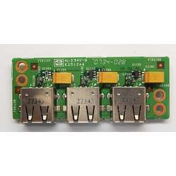 Плата USB разъемов Fujitsu Esprimo Mobile V5515 Z17M USB Board 6050A2140101