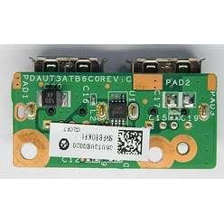 Плата USB разъемов ноутбуков HP G61 CQ61 DA00P6TB6E0 Compaq Presario CQ71