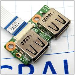 Плата USB для ноутбука HP DV6-1316e, DV6-1000, DV6-2000 серии DA0UT3PC8D0