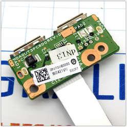 Плата USB для ноутбука HP DV6-1000, DV6-2000 серии DA0UT3PC8D0