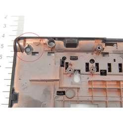 Палмрест верхняя часть корпуса ноутбука DNS (0137514) W170HR, 6-39-B7112-013