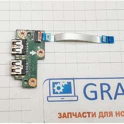 Доп. плата с разьемами USB ноутбука Acer Aspire V5-551, V5-551G, DA0ZRPTB6C0