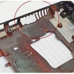 Нижняя часть корпуса, поддон ноутбука Lenovo Z580, Z585 3ALZ3BALV00