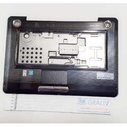 Верхняя часть корпуса, палмрест ноутбука Toshiba A350D, A350, A355, AP5S00800