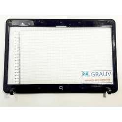 Безель, рамка матрицы ноутбука  HP Compaq 610, 615, 538428-001