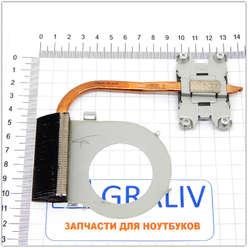 Термотрубка, радиатор охлаждения ноутбука HP G6-1000 серии 657942-001
