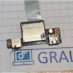 Доп. плата, usb, audio, картридер, Lenovo G50-30, 45508812001, ACLU2_USB_FFC