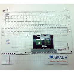 Верхняя часть ноутбука, палмрест Asus X502C 13N0-P1A0501