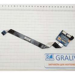 Доп. плата с разьемами USB ноутбука  HP DV7-6000 48.4RH05.021