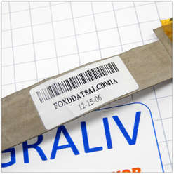 Шлейф матрицы для ноутбука HP Pavilion DV6700 DV6000 F500, F700, HP G6000, v3000 DDAT8ALC0041A