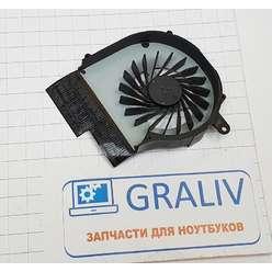 Кулер, вентилятор для ноутбука HP G62, G72, CQ72, CQ62 , KSB0505HA-A