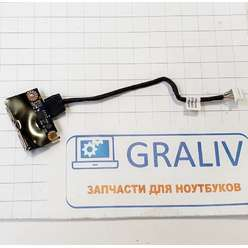 Плата c usb ноутбука HP DV4-1000 серии LS-4101P
