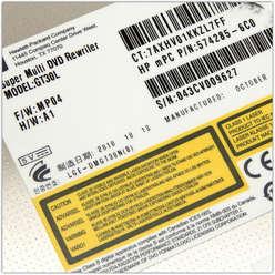 DVD привод ноутбука HP Compaq CQ56, GT30L, 620604-001