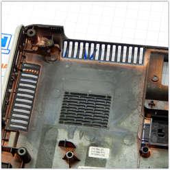 Поддон, нижняя часть корпуса ноутбука HP DV5-1000 серии, 37QT6BATP70