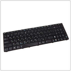Клавиатура для ноутбука Asus K52, K53, K54, N50, N51, N52, N53, N60, N61, N70, N71, N73, N90, P52, P53, K72, K73, A52, B53, A54, A72, UL50, W90, PRO5IJ, F50, X52, X54, X55, X75, PRO5A, PRO64, K54C, MP-10A73SU-5281