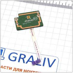 Кнопка старта, включения ноутбука Dell N7010, DA0UM9PB6D0, 0GK80F