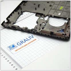 Нижняя часть корпуса, поддон ноутбука Samsung NP370, NP450 BA75-04340A