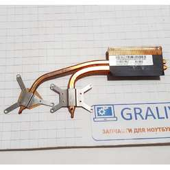 Радиатор системы охлаждения, термотрубка ноутбука Toshiba Satellite L40 L45, H000003870 13GNQB1AM020