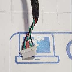 USB разьемы ноутбука Toshiba A300