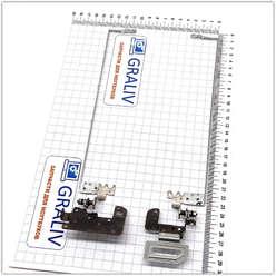 Петли для ноутбука Acer E5-571G, E5-511, E5-572, E5-573, V3-572G, E5-531, AM154000B00, AM154000A00