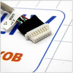 USB разъемы на кабеле ноутбука HP 4710s, 6017B0199401