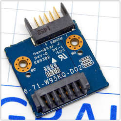 Переходник подключения аккумулятора ноутбука Dexp O107 0808596, 6-71-W95KQ-D02