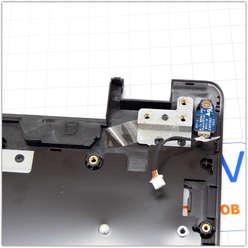 Верхняя часть корпуса ноутбука Dexp O107 0808596, O108, O109, 6-39-W95S2-013