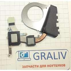 Система охлаждения ноутбука Acer One 721, DFS400805L10T F93X, 60.4HU03.002
