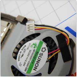 Система охлаждения ноутбука Acer One D255, MF40050V1-Q040-G99