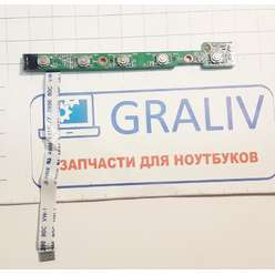Панель старта, кнопка включения ноутбука MSI VR330 MS-10242 VER:08