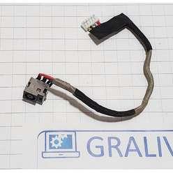 Разъем питания ноутбука HP DV4-1000, CQ40 CQ45, DC301004L00