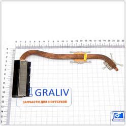 Радиатор системы охлаждения, термотрубка ноутбука Asus X550, X552, X552C, F552C, 13N0-PHA0101