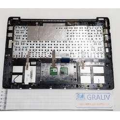 Верхняя часть корпуса, палмрест ноутбука Asus S301, V301, Q301, 13NB02Y1AM0211