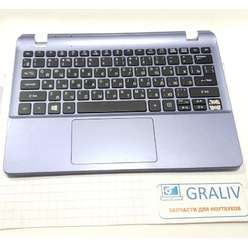 верхняя часть корпуса, палмрест ноутбука Acer E3-112, EAZHK0030400
