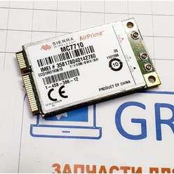 3G модем ноутбука Sony SVZ1311V9RX, AirPrime MC7710