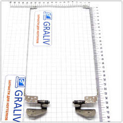 Петли для ноутбука eMachines G625, G630, G725 AM06X000210, AM06X000110