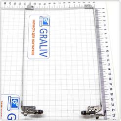 Петли ноутбука HP G6-1000 серии,  FBR15004010, FBR15006010